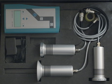 HF-Messsystem drei Sensoren